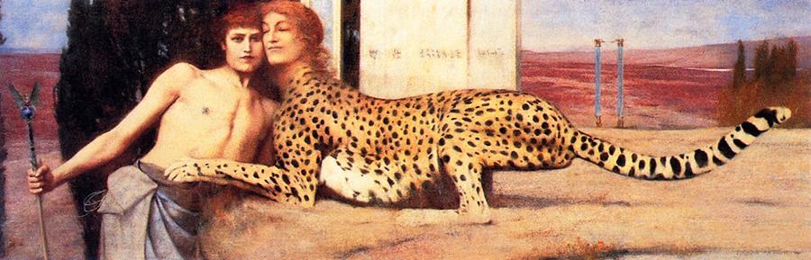 Pocałunek Sfinksa – symbolizm belgijski