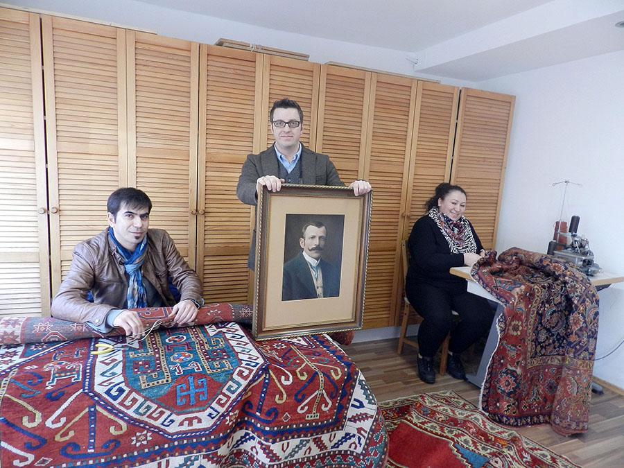 Pollischansky – klinika dywanów